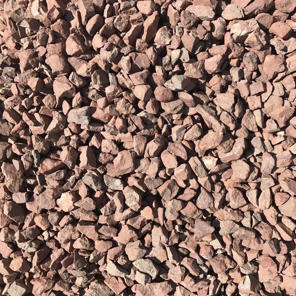 0.50 cu. ft. 40 lbs. 3/4 in. Burnt Sienna Brown Decorative Landscaping Gravel (20-Bag Pallet)
