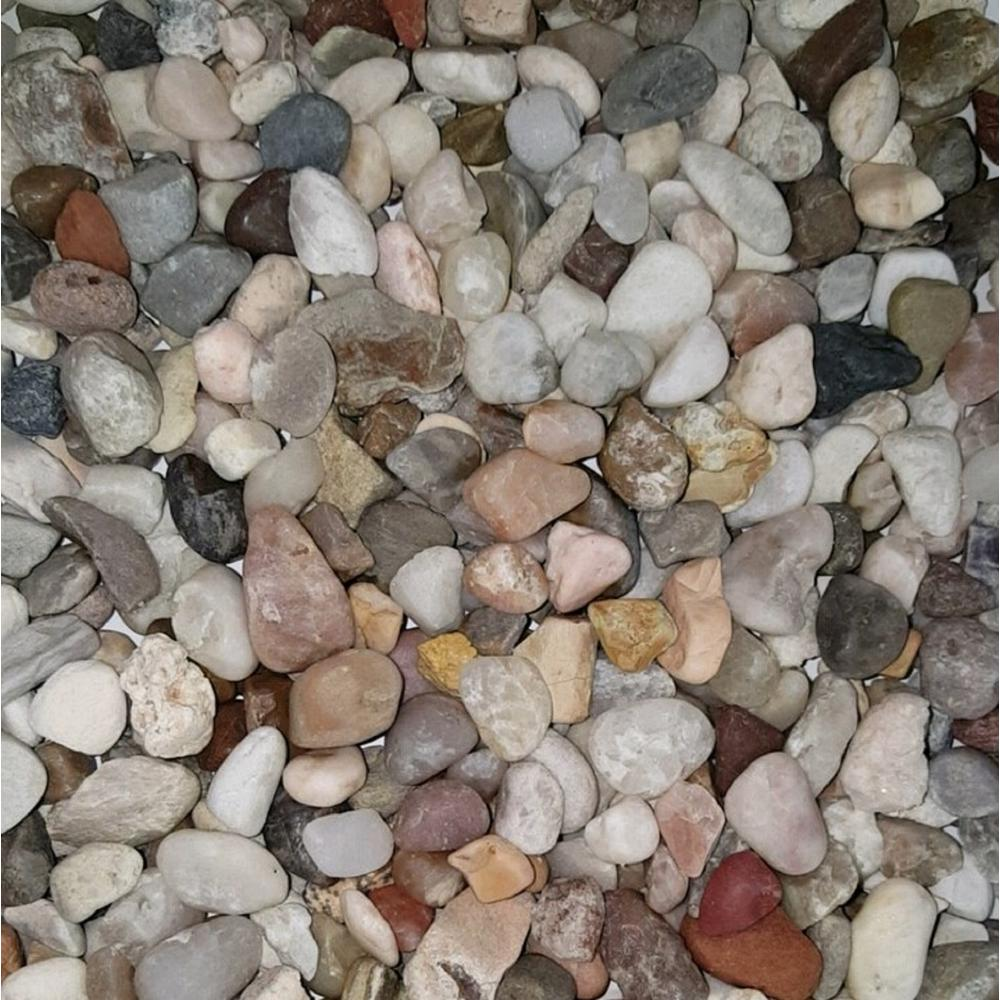 0.50 cu. ft. 40 lbs. 1/2 in. Montana River Decorative Landscaping Pebble (20-Bag Pallet)